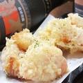 料理メニュー写真完熟トマトの天ぷら