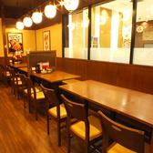 あたたかな灯りのお席を多数ご用意いたしております!雰囲気抜群の店内は、ゆったりとくつろげる空間です。
