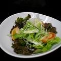 料理メニュー写真長芋と水菜のサラダ