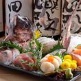 三浦漁港を中心にその日一番鮮度の良い魚を産地直送で仕入れているため魚料理には自信を持ってご提供しております。鮮度にこだわった旬の食材をご堪能くださいませ。宴会,女子会,飲み会に◎