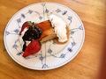 料理メニュー写真Caramel cake キャラメルケーキ