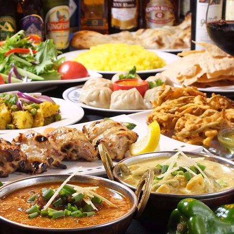 東長崎駅徒歩2分★本格的なネパール・インド料理が気軽に楽しめるお店