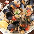 料理メニュー写真ムール貝とアサリのソテー ナポリ風