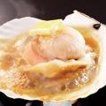 料理メニュー写真北海道産 活帆立バター醤油焼き