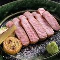 料理メニュー写真京のもち豚ステーキ