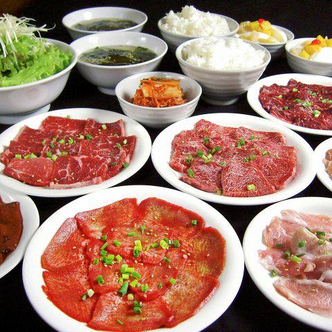 通常コースのお肉1.3倍 【お肉ガッツリコース】  [ 2名様より・ 要ご予約 ]