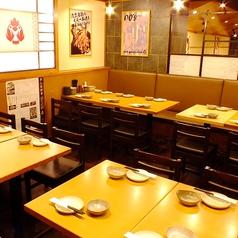 ついつい長居してしまう落ち着いた空間で、美味しいお料理をお楽しみください!