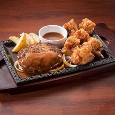ハンバーグ&大唐揚げ(6個)