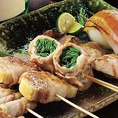 料理メニュー写真野菜巻き串