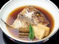 料理メニュー写真鯛のかぶと煮/塩焼き