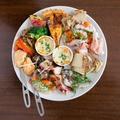 料理メニュー写真前菜の盛り合わせ