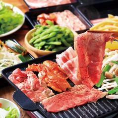 池袋パルコ アロハ 肉食べ放題 BBQビアガーデンのコース写真