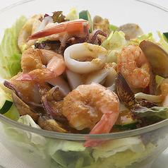 料理メニュー写真カリブサラダ M/L