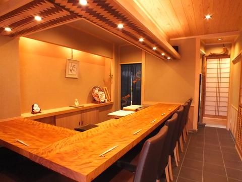 静かに時が流れる中、風情を愉しみ「京料理」の妙味に酔いしれる幸せ