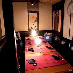 テーブルの個室空間♪2名様~4名様まで◎