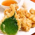 料理メニュー写真奥美農古地鶏の天ぷら
