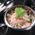 料理メニュー写真特製中華拌麺(バンメン)