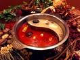 火鍋スープ選べます。