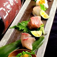 徳島産直の鮮魚お造り/2000円(2人前)