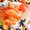 料理メニュー写真鶏唐チリソース/エビマヨ