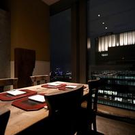 東京の夜景を一望できます