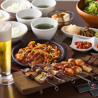 串焼きやホルモンなどお酒がグイグイすすむ料理も多数♪