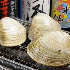 千葉県産大粒白ハマグリは浜焼きでグツグツ!