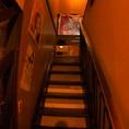 奥の階段を上ると、さらにお部屋が!