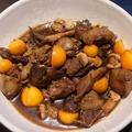 料理メニュー写真【1月~】旬のおばんざいの一例) 鶏肝煮