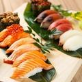 料理メニュー写真海鮮のお寿司もございます♪