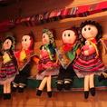 ペルーの民族衣装を着たお人形がお出迎え♪
