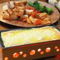 料理メニュー写真花畑牧場のラクレットチーズ