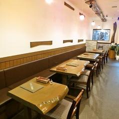 4名様用テーブル席×4