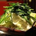 料理メニュー写真ホルモン鍋