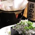 料理メニュー写真【旬】シラス湯豆腐冬には、あったかい湯豆腐どうぞ。シラスたっぷり。鯛のだしが効いてます。