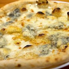 4種のチーズピザ 黒胡椒の香り