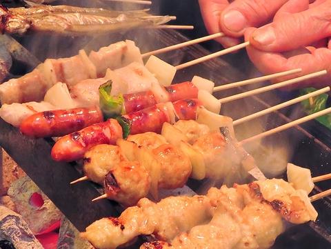焼き鳥食べるなら家康!創業50年博多っ子に愛される老舗焼き鳥居酒屋。串は1本90円~