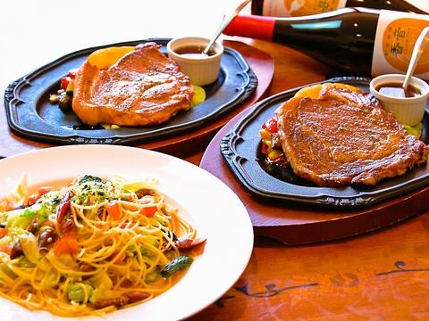 鬼怒川の中心地で楽しむ創作イタリアン。新鮮素材を生かした彩り豊かな料理が揃う。