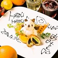 『ありがとう☆』デザート