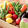 兵庫県産松岡農園の新鮮野菜をご提供しております♪