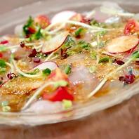 月替わりの「旬の魚」を使用した魚料理をご提供
