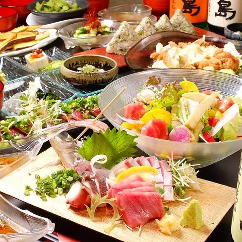 ◆各種宴会におすすめコース◆お料理12品+2時間飲み放題付⇒4000円(税込)