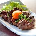 料理メニュー写真九州厳選鶏使用!鶏レバーの甘辛炒め