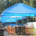 テントが大きくなりました!