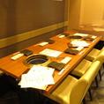 人数に合わせたテーブル席もOK!