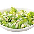 料理メニュー写真国産野菜の温玉シーザーサラダ