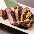 料理メニュー写真仙台厚切り牛タン炭焼