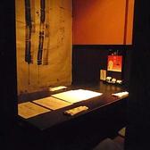 格子戸に仕切られた個室は全部で5つ。