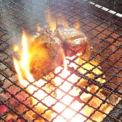 料理メニュー写真長州地鶏 モモの炙り