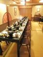 歓送迎会や忘新年会に最適!!テーブル席叉は普通の座敷!どちらにも対応出来ます(^^)